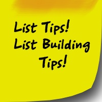 Write Top Tips List