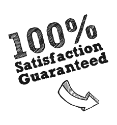 Business Satisfaction 100 percent guaranteed